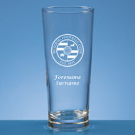 Personalised Reading FC Crest Beer Pint Glass