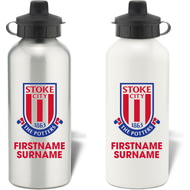 Personalised Stoke City FC Bold Crest Water Bottle