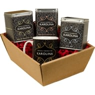 Personalised Traditional Design Tea Hamper