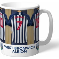 Personalised West Bromwich Albion FC Dressing Room Mug
