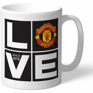 Personalised Manchester United Love Mug