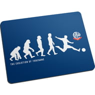 Personalised Bolton Wanderers Evolution Mouse Mat
