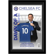 Personalised Chelsea FC Magazine Front Cover Photo Framed