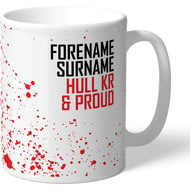 Personalised Hull Kingston Rovers Proud Mug