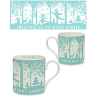 Personalised In The Night Garden Snowtime Ceramic Balmoral Mug
