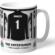 Newcastle United FC 'The Entertainers' Dressing Room Shirts Mug