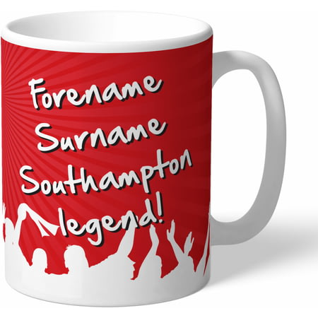 Personalised Southampton FC Legend Mug