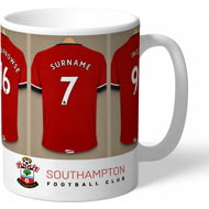 Personalised Southampton FC Dressing Room Shirts Mug