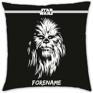 Personalised Star Wars Chewbacca Paint Cushion