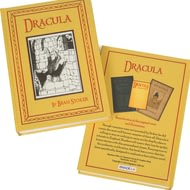 Personalised Bram Stokers Dracula Novel Book