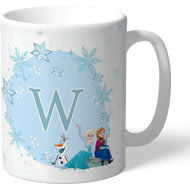 Personalised Disney Frozen Initial Mug