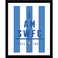 Personalised Sheffield Wednesday I Am Framed Print