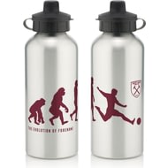 Personalised West Ham United Player Evolution Aluminium Sports Water Bottle
