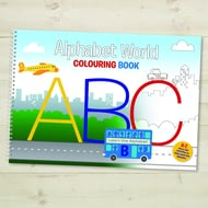 Alphabet World Colouring Book Un-personalised