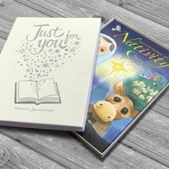 Personalised Little Donkey And The Nativity Story Book