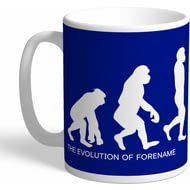 Personalised Chelsea FC Evolution Mug