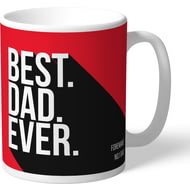 Personalised Nottingham Forest Best Dad Ever Mug
