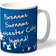Personalised Leicester City FC Legend Mug