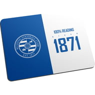 Personalised Reading FC 100 Percent Mouse Mat