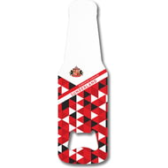 Personalised Sunderland AFC Patterned Bottle Shaped Bottle Opener