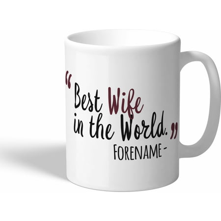 Personalised West Ham United Best Wife In The World Mug