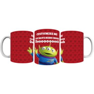 Personalised Toy Story Valentines Alien You Have Been Chosen Ceramic Mug
