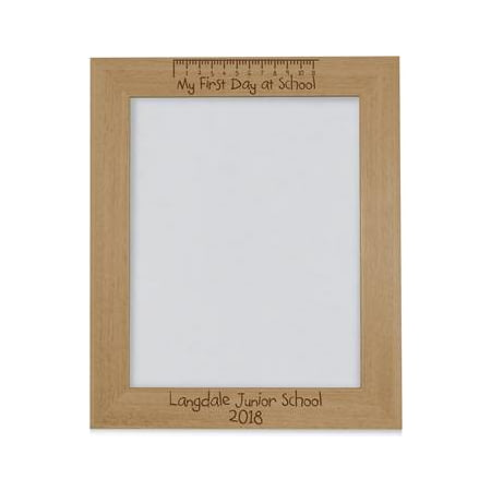 Personalised First Day Photo Frame