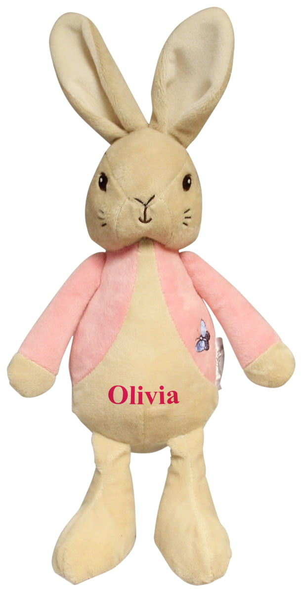 Personalised My 1st Flopsy Rabbit Plush Toy From Go Find A
