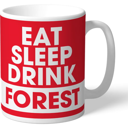 Personalised Nottingham Forest FC Eat Sleep Drink Mug