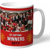 Personalised Manchester United EFL Cup Winners 2017 Mug