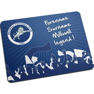 Personalised Millwall FC Legend Mouse Mat