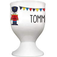 Personalised Soldier Ceramic Egg Cup