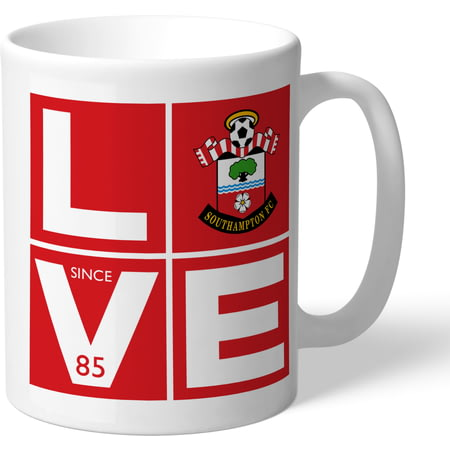 Personalised Southampton FC Love Mug