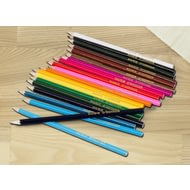 Personalised 20 Colouring Pencils
