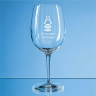 Personalised Nottingham Forest FC Crest 480ml Wine Glass