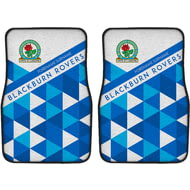 Personalised Blackburn Rovers FC Patterned Front Car Mats
