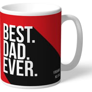 Personalised Liverpool FC Best Dad Ever Mug