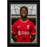 Personalised Liverpool FC Keita Autograph Photo Framed