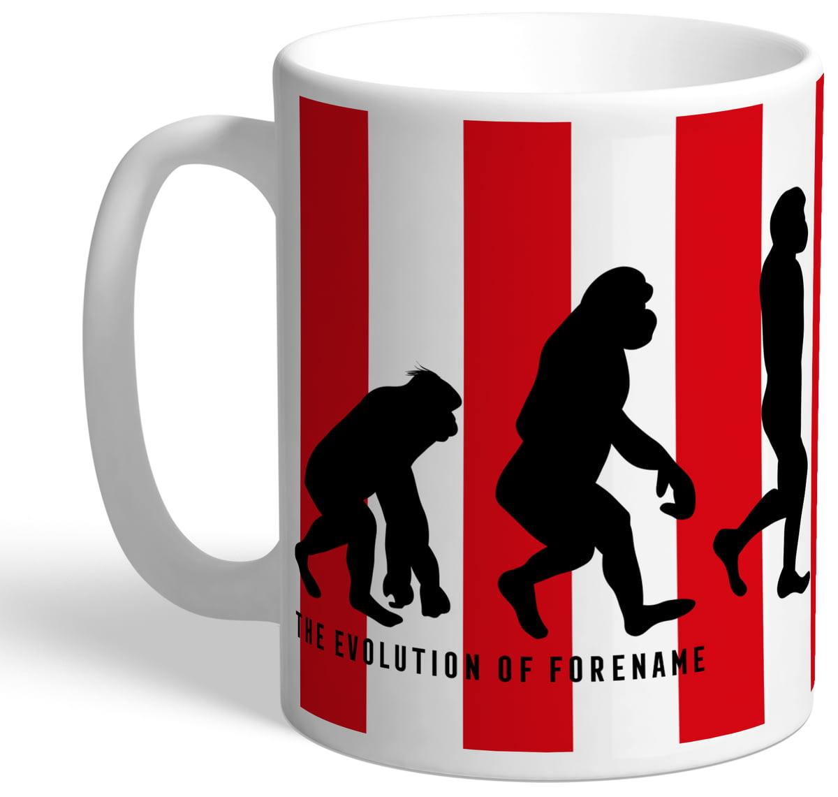 Personalised Sunderland Afc Evolution Mug