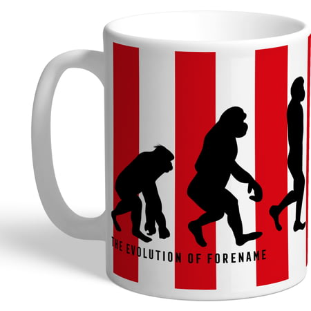 Personalised Sunderland AFC Evolution Mug