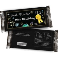 Personalised Teacher's Chocolate Bar