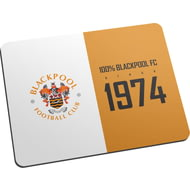 Personalised Blackpool FC 100 Percent Mouse Mat