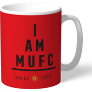 Personalised Manchester United I Am Mug