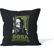 Personalised Star Wars Boba Pop Art Cushion - 45x45cm