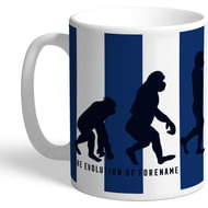 Personalised West Bromwich Albion Evolution Mug