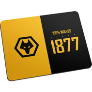 Personalised Wolves 100 Percent Mouse Mat