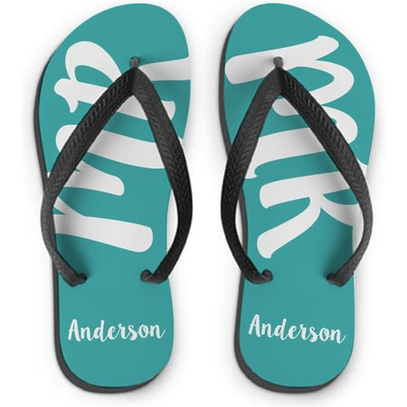 Personalised MR Medium Flip Flops