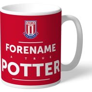 Personalised Stoke City True Mug