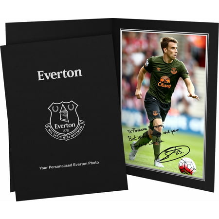 Personalised Everton FC Coleman Autograph Photo Folder
