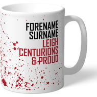 Personalised Leigh Centurions Proud Mug